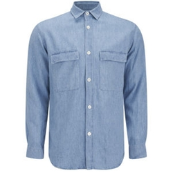 Men's Long Sleeve Denim Shirt by Our Legacy in The Proposal