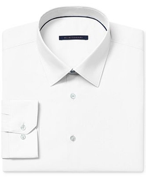 Solid Dress Shirt by Elie Tahari in Paper Towns