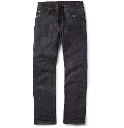 505 Dry Selvedge Denim Jeans by Levi's Vintage Clothing in Fast Five