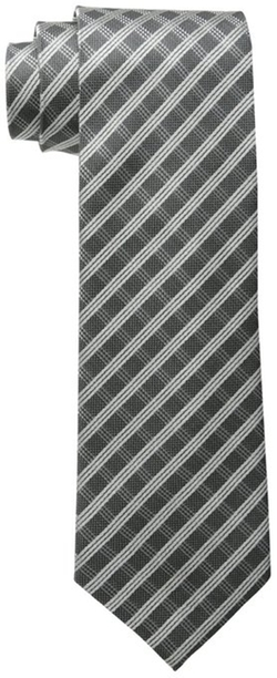 Men's Bill Plaid Tie by Vince Camuto in Blackhat