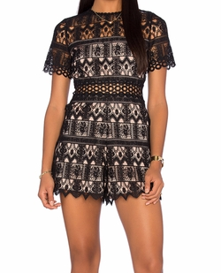 Alexandria Romper by Alexis in Pretty Little Liars