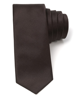 Luster Satin Skinny Tie by Theory in Crimson Peak