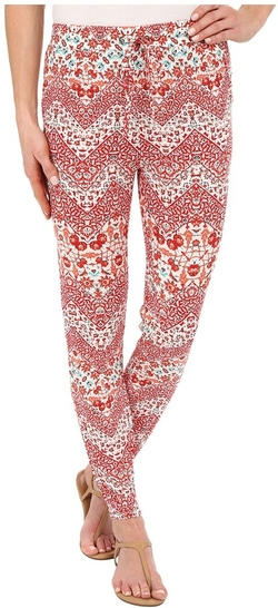 Mariah Printed Pants by Brigitte Bailey in Empire