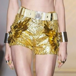 SS16 Sequin Shorts by The Blonds in Empire