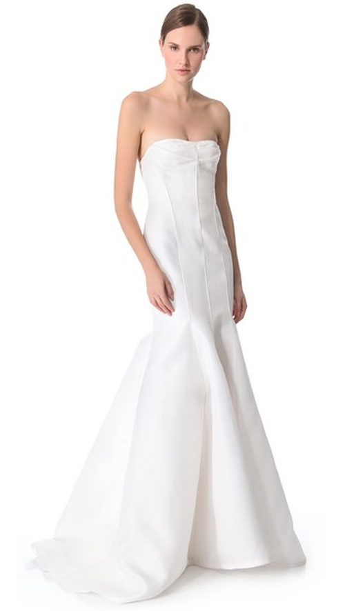Blanche Strapless Mermaid Gown by J. Mendel in American Sniper
