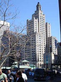 Providence, Rhode Island by Bank of America Building in Hall Pass