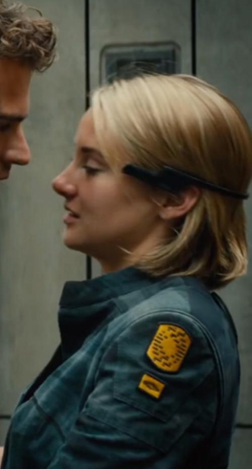 Custom Made Jacket by Marlene Stewart (Costume Designer) in The Divergent Series: Allegiant