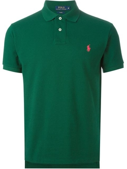 Embroidered Logo Polo Shirt by Ralph Lauren in My All American