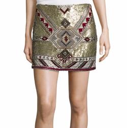Elana Embellished Mini Skirt by Alice + Olivia in The Bachelorette