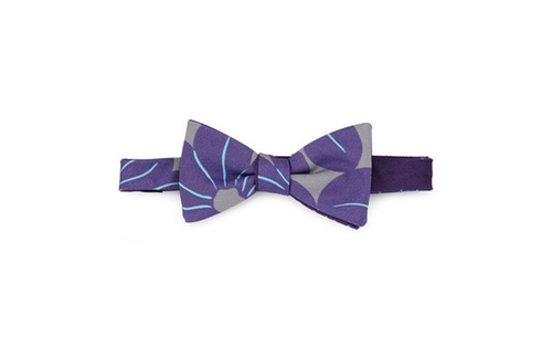 Pre-Tied Floral-Print Bow Tie by Massimo Bizzocchi in The Good Place - Season 1 Episode 4