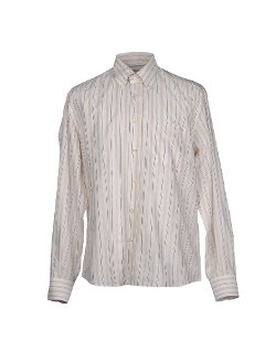 Stripe Button Down Shirt by Valentino in Sherlock Holmes: A Game of Shadows