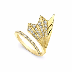 Flair Ring by Ron Hami in Arrow