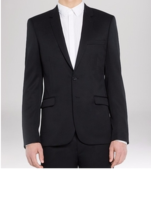 Slim Fit Notch Suiting Jacket by Sandro in Billions - Season 1 Episode 8