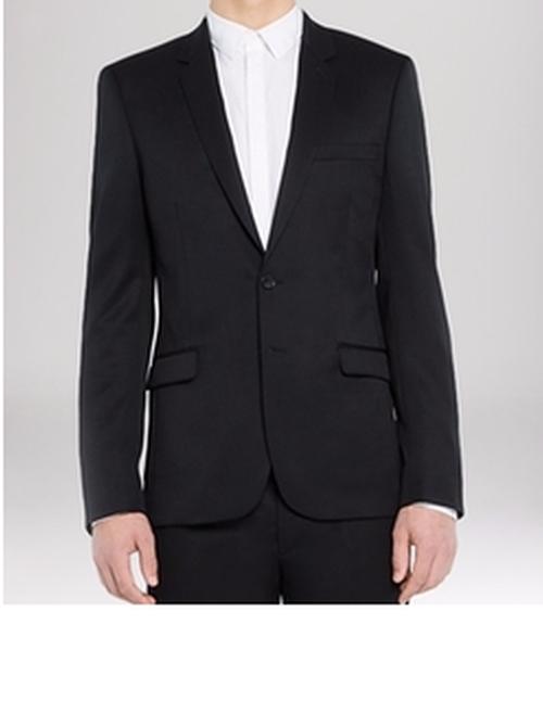 Slim Fit Notch Suiting Jacket by Sandro in Billions - Season 1 Episode 8