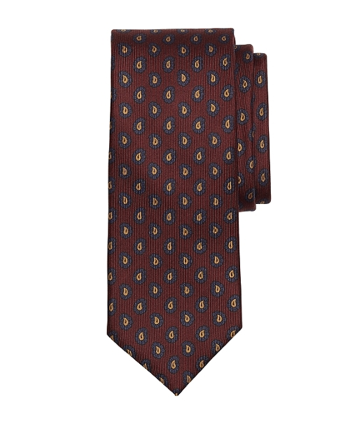 Pine Tree Print Tie by Brooks Brothers in Absolutely Anything