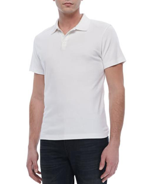 Boyd Polo in Census, White by Theory in Jersey Boys