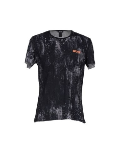 Snakeskin Print T-Shirt by Just Cavalli Beachwear in Barely Lethal