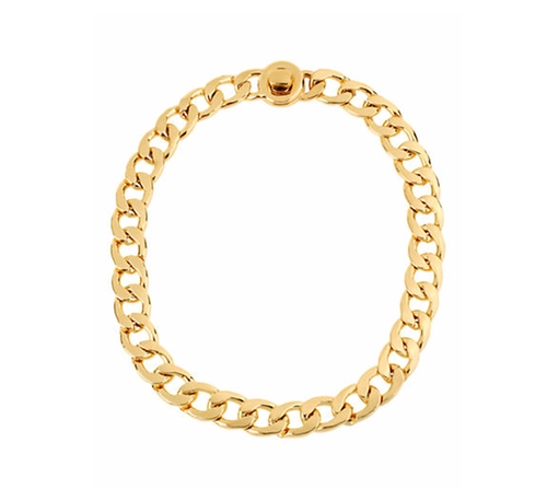 Goldtone Chain Link Necklace by Kenneth Cole New York in The Boss