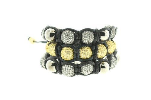 Triple Row Ice Ball Bracelet by Creamjewelrybest in Jem and the Holograms