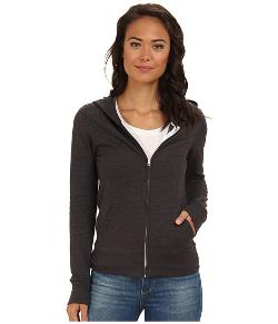 Solid Slim Fleece Zip Hoodie by Hurley in Ouija