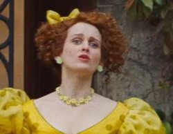 Custom Made Yellow Floral Necklace (Drizella) by Sandy Powell (Costume Designer) in Cinderella
