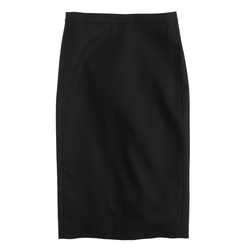 No. 2 Cotton Twill Pencil Skirt by J. Crew in Supergirl