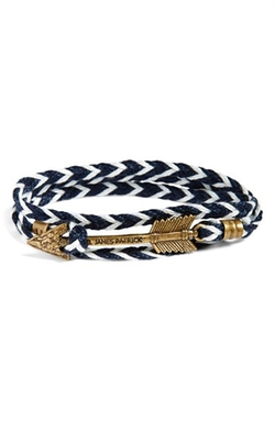 'Jayhawk' Wrap Bracelet by Kiel James Patrick in Whiskey Tango Foxtrot