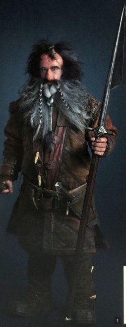 Custom Made Bifur Costume by Ann Maskrey & Bob Buck (Costume Designer) in The Hobbit: The Battle of The Five Armies
