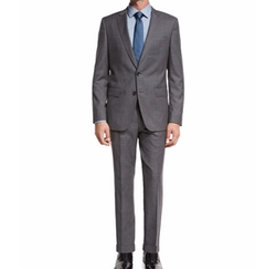 Fresco Wool Two-Piece Travel Suit by Boss in Quantico