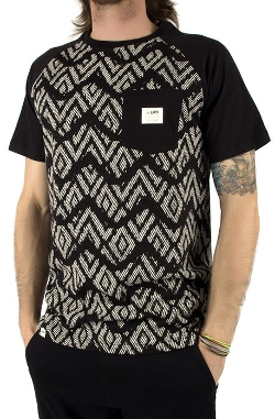 The Zig Zag Aztec Baseball T-Shirt by Lira in Ricki and the Flash