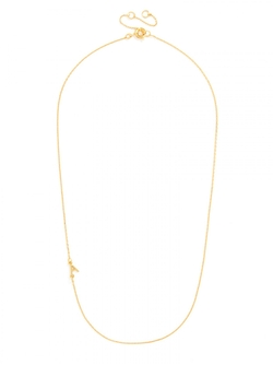 Asymmetrical Alpha Pendant Necklace by Baublebar in Pretty Little Liars