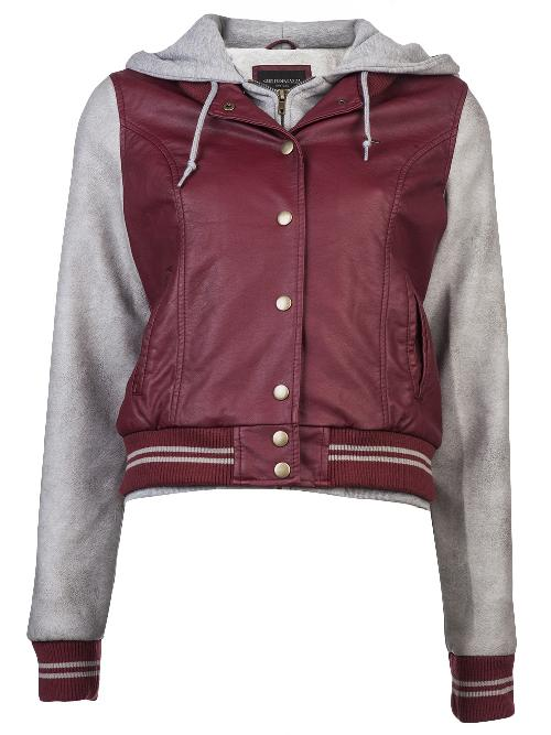 Varsity lover jacket by OBEY in Walk of Shame