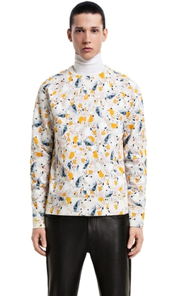 College Terazzoprint Sweatshirt by Acne in Ballers