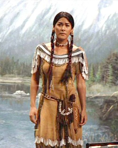 Custom Made Native American Indian Woman Costume (Sacagawea) by Marlene Stewart (Costume Designer) in Night at the Museum: Secret of the Tomb