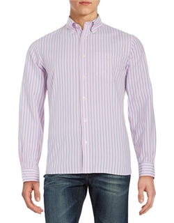 Striped Sport Shirt by Brooks Brothers in The Big Bang Theory