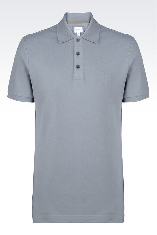 Polo Shirt by Armani Collezioni in Trainwreck