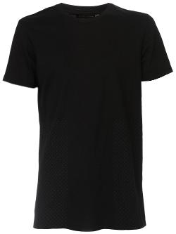 'Sashiko' crew neck t-shirt by WINGS+HORNS in Sabotage