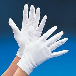 Adult White Wrist Length Gloves by OTC in Savages