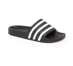 Adilette Slide Sandals by Adidas in Keeping Up With The Kardashians