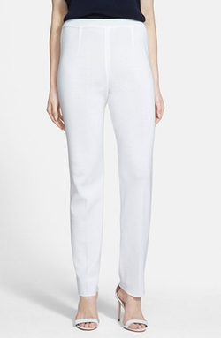 Pull-On Knit Pants by Ming Wang in Suits