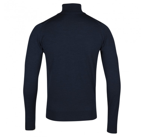 Belvoir In Indigo Pullover by John Smedley in The Man from U.N.C.L.E.