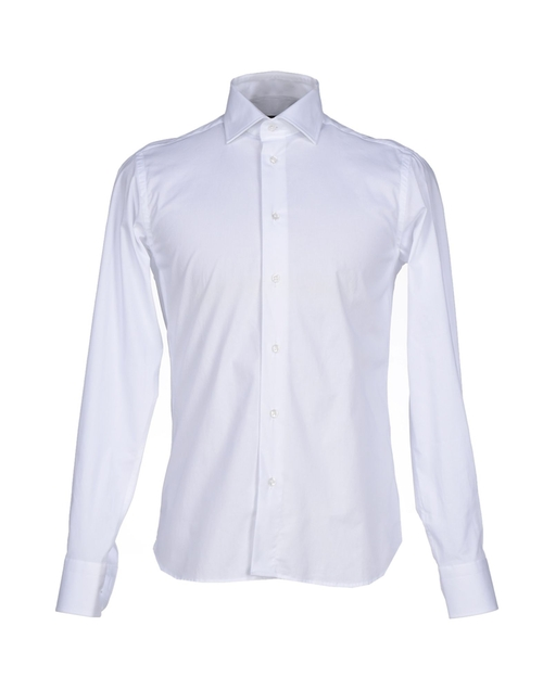 Plain Button Long Sleeve Shirt by Henry Smith in Straight Outta Compton