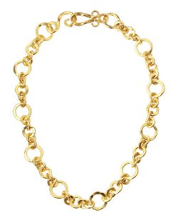 Coronation Gold Plate Small Necklace by Stephanie Kantis	 in Silver Linings Playbook