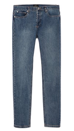 Petit New Standard Stretch Jeans by A.P.C. in The Town