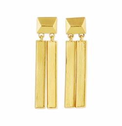 Versatile Stick Drop Earrings by Stephanie Kantis in Baywatch