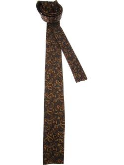 Patterned Tie by Emilio Pucci Vintage in Anchorman 2: The Legend Continues