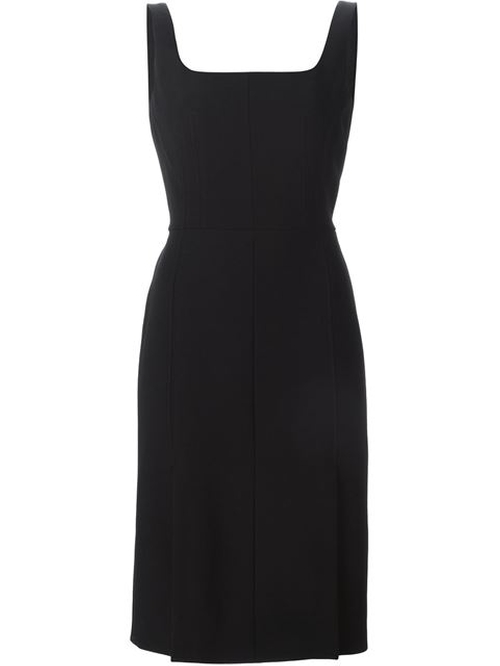 Square Neck Pencil Dress by Alexander McQueen in Valentine's Day