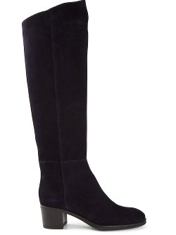 Knee Length Block Heel Boots by Santoni in The Town