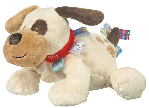 Buddy Dog Stuffed Toy by Taggies in Adult Beginners