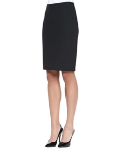Nouveau Boucle Knit Pencil Skirt by St. John Collection	 in The Good Wife